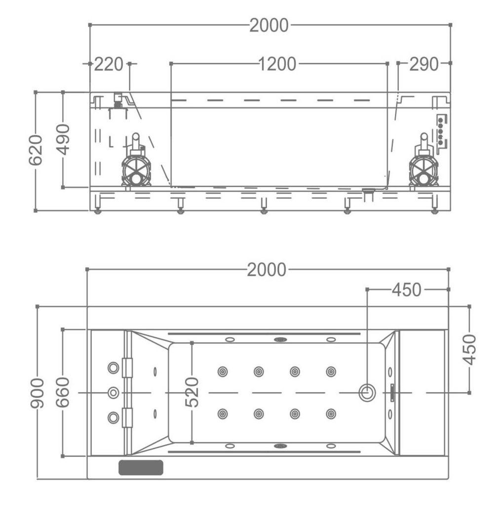 Dibujo Technico Modelo M-1108A